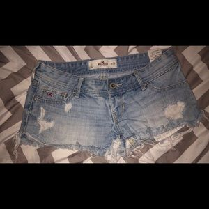Pants - Hollister jean shorts
